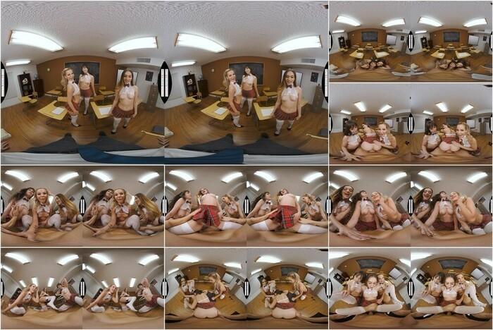Naughty America VR – Bella Elise Rose, Jenna Noelle & Sera Ryder