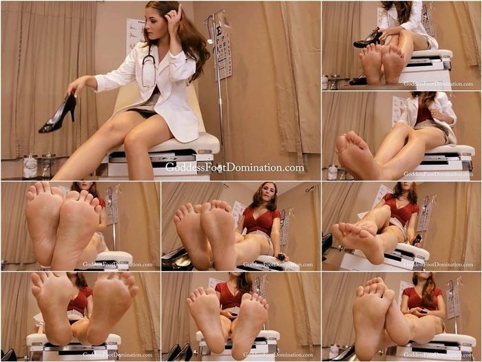 Goddess Foot Domination   Goddess Molly   Podiatrist's Foot Slave POV