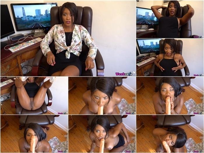 WankItNow – Kiki Minaj – Naughty Accountant