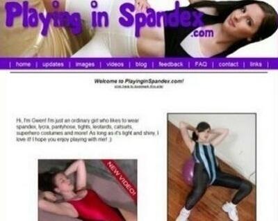 PlayingInSpandex.com – SITERIP