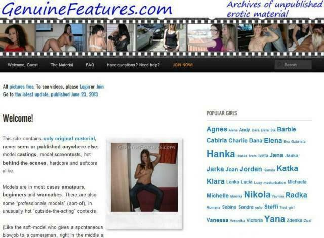 GenuineFeatures.com – SITERIP
