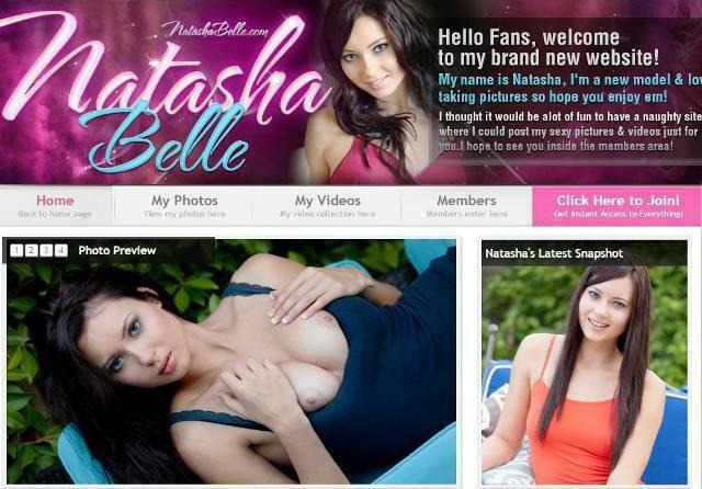 NatashaBelle.com – SITERIP