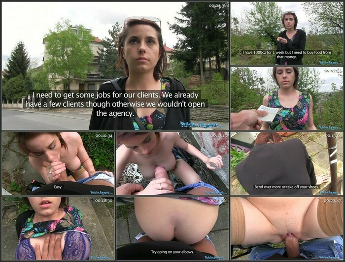 Student With Big Tits Fucked In A Park (Full HD)