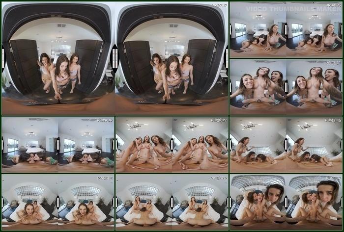 Naughty America VR – Kylie Rocket, Maddy May & Maya Woulfe
