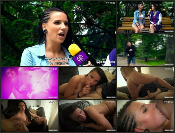 Jolee Love – Gorgeous busty German camgirl Jolee Love seduces and bangs amateur guy (Full HD)