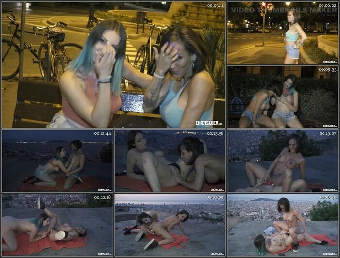Betty Foxxx, Yuno Love – Wild Spanish lesbians Betty Foxxx & Yuno Love in hot public outdoor fuck (HD)