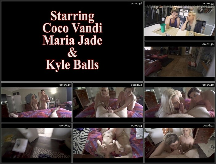 Coco Vandi, Maria Jade – Son Blackmails Mom And Aunt Part 3) (Full HD)