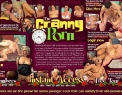 TheGrannyPorn.com – SITERIP